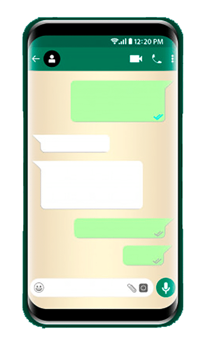 chat template phone 10606 25
